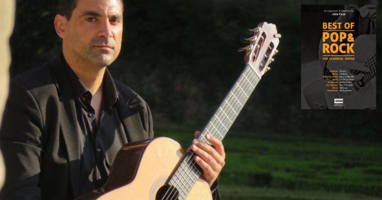 Livro de João Fuss: The Best of Pop Rock for Classical Guitar