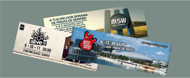 Festivais: NOS Alive | Super Bock Super Rock | MEO Sudoeste – PONTO DA SITUAÇÃO