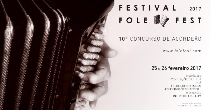 O Acordeão em destaque no Folefest 2017 em Lisboa