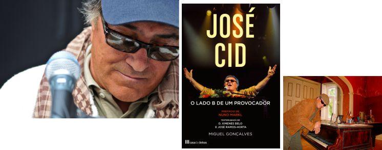 José Cid. Biografia oficial traz revelações surpreendentes.